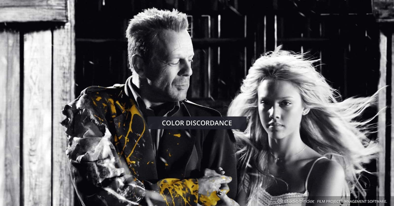 How to Use Color in Film - Movie Color Palette Example - Sin City