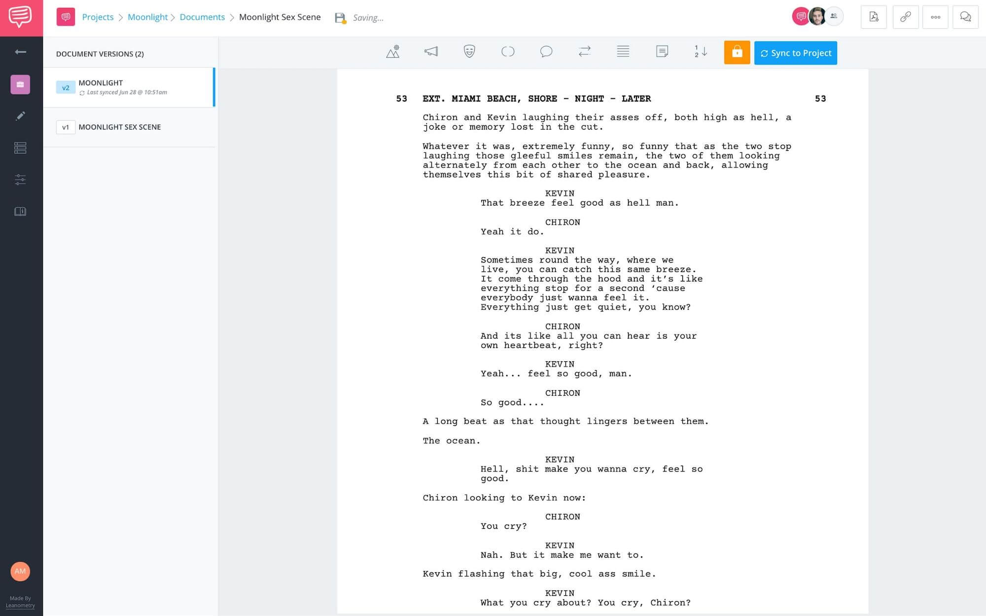 How to Write & Direct Sex Scenes - Best Movie Sex Scenes - Moonlight - StudioBinder Screenplay Software