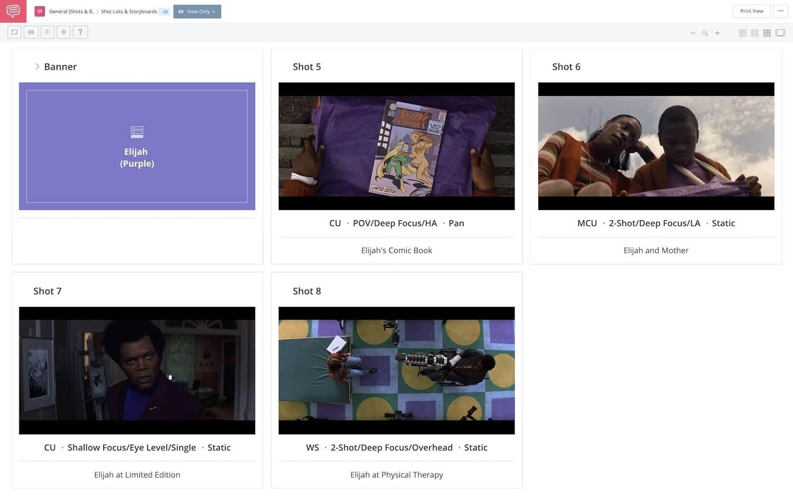 M. Night Shyamalan Movies - Hero and Villain Color Motifs - StudioBinder Online Shot List Software