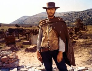 Medium Shot Example - Cowboy - Clint Eastwood