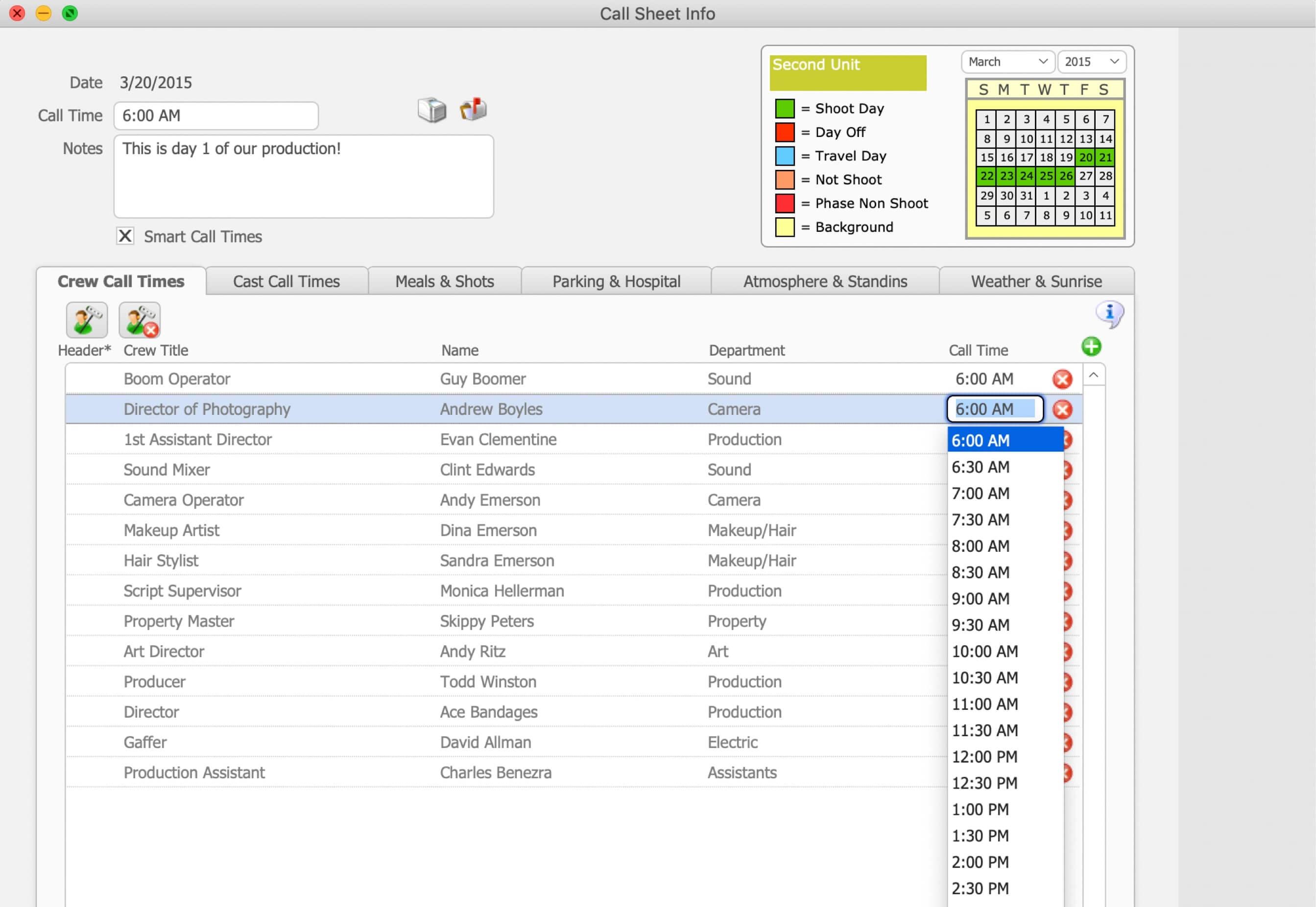 The Best Alternative to Jungle Software Gorilla Scheduling Call Sheet