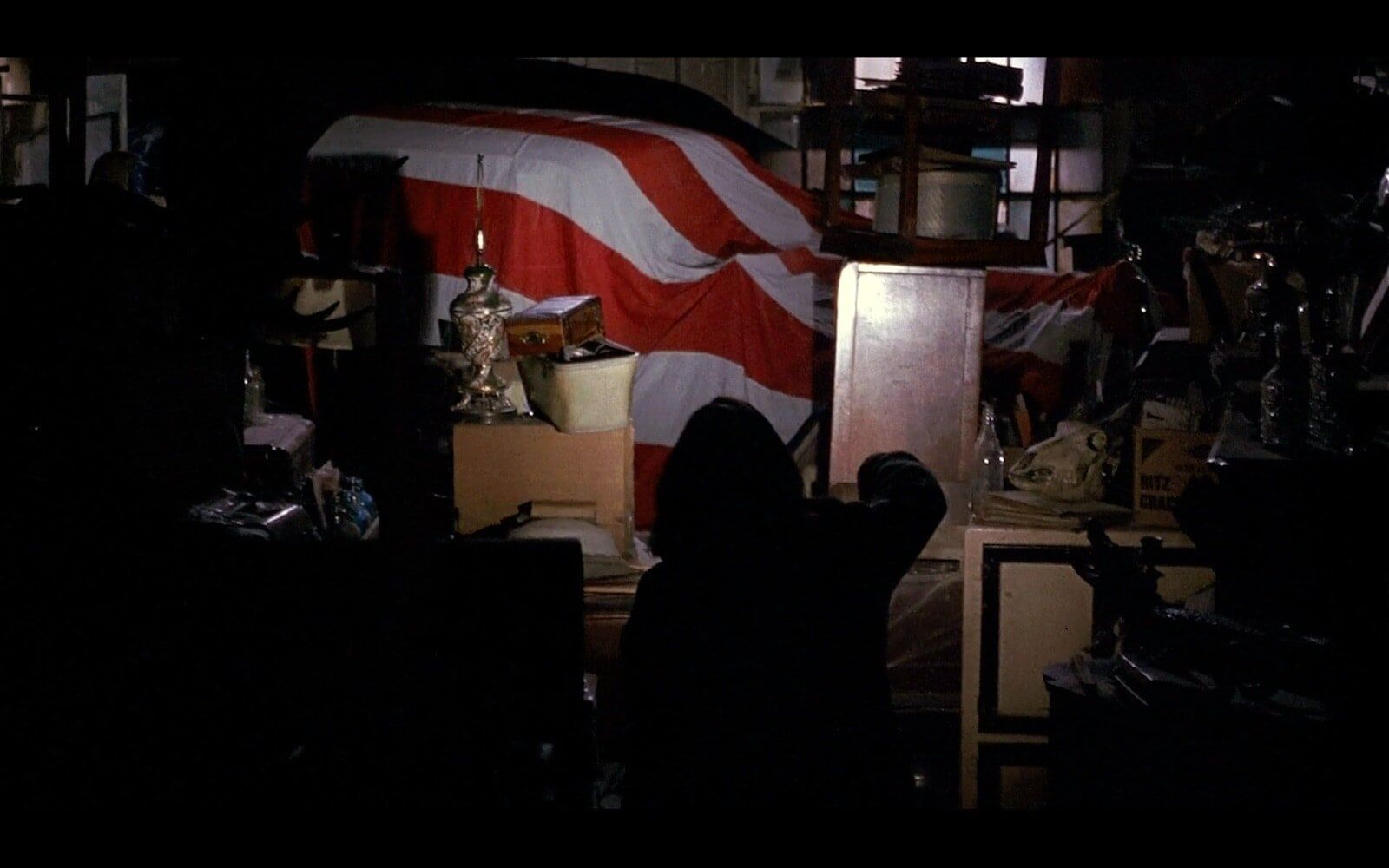 What is a Motif - Silence of the Lambs - Flag Over Car
