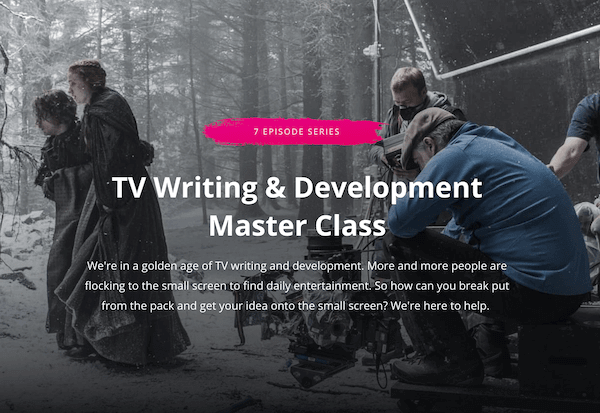 TV Writing and Development - Master Class