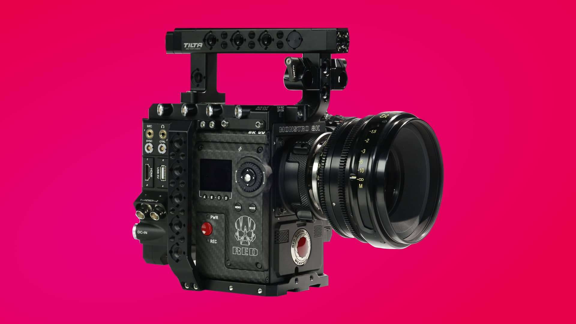 Best Red Video Cinema Camera 8K Price - Header - StudioBinder