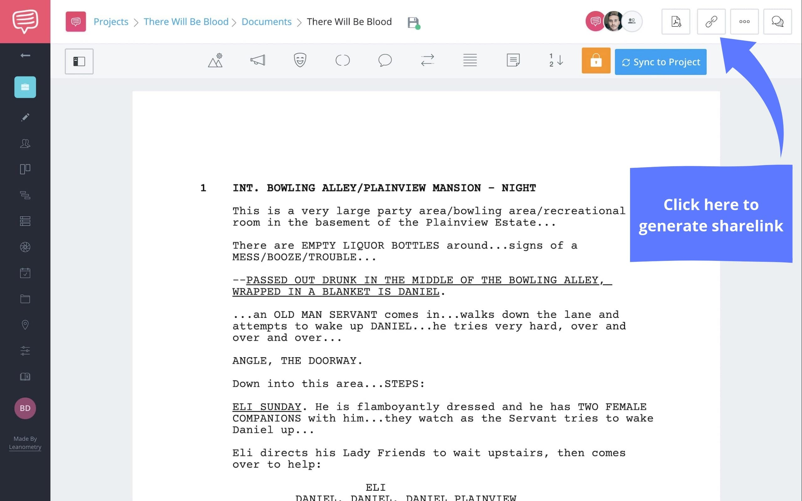 How to Collaborate with Comments in StudioBinder - StudioBinder Scriptwriting Software