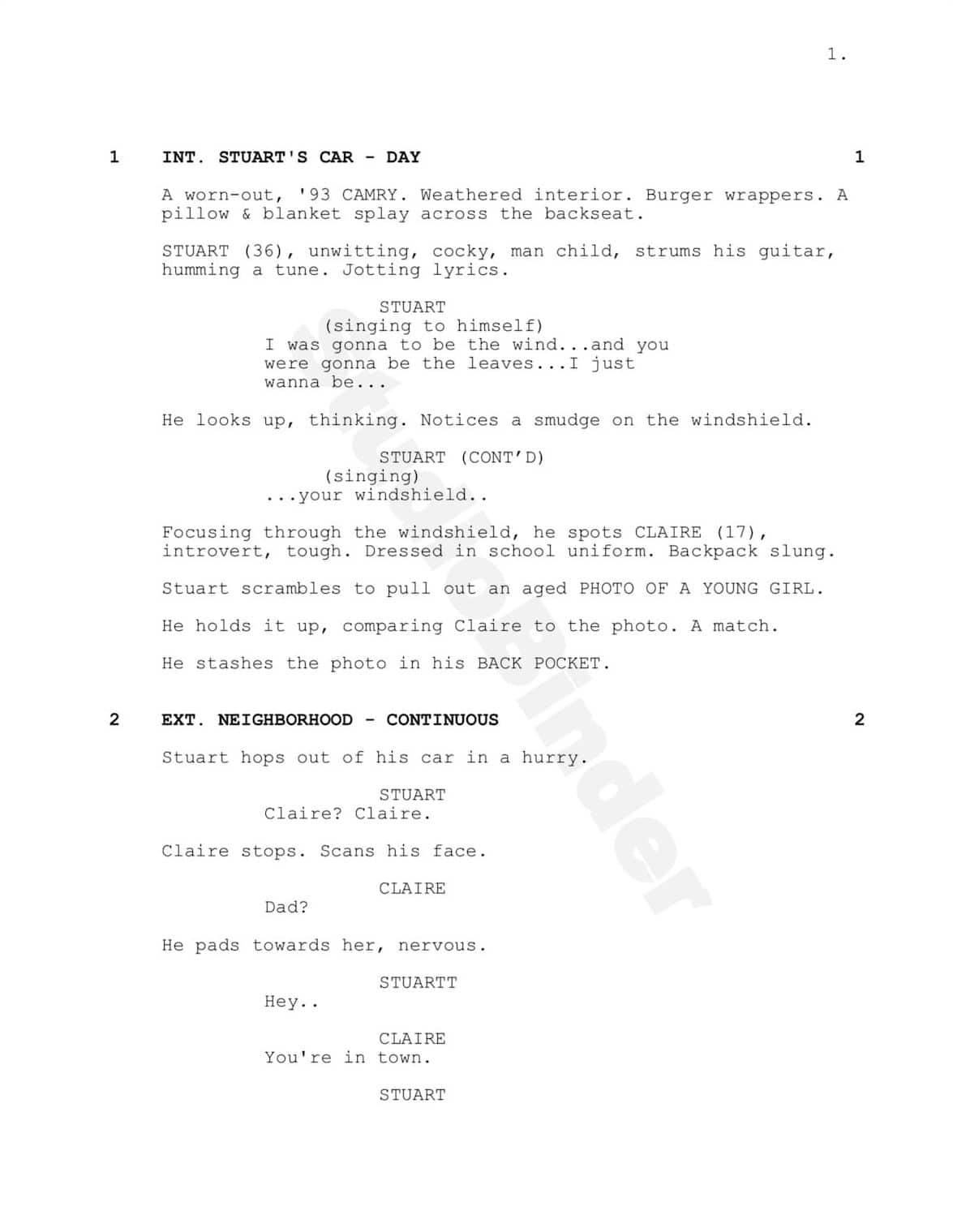 How to Protect Your Screenplays with Watermarked PDFs - StudioBinder Scriptwriting Software
