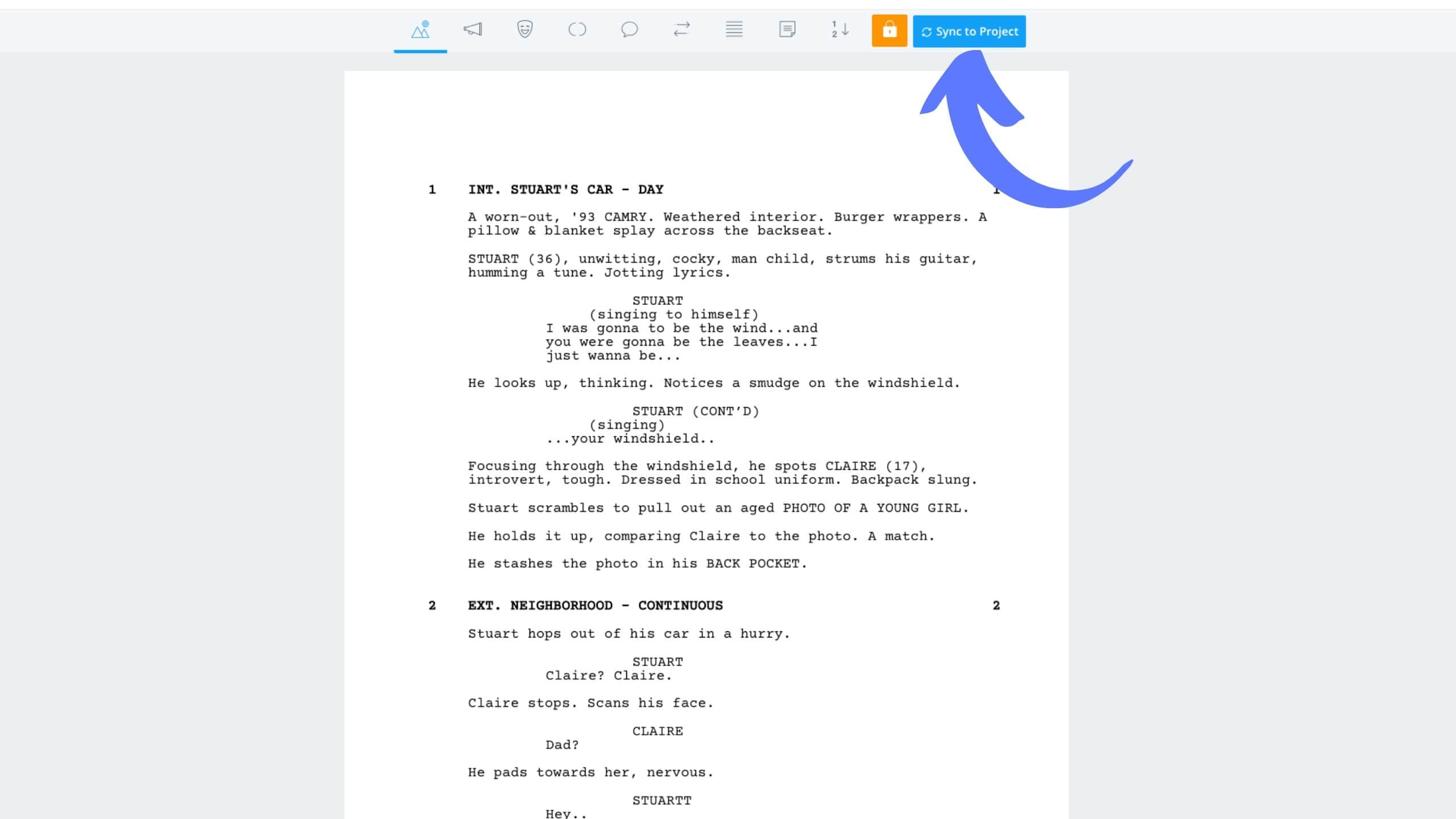 How to Renumber Scenes in StudioBinder - StudioBinder Screenwriting Software
