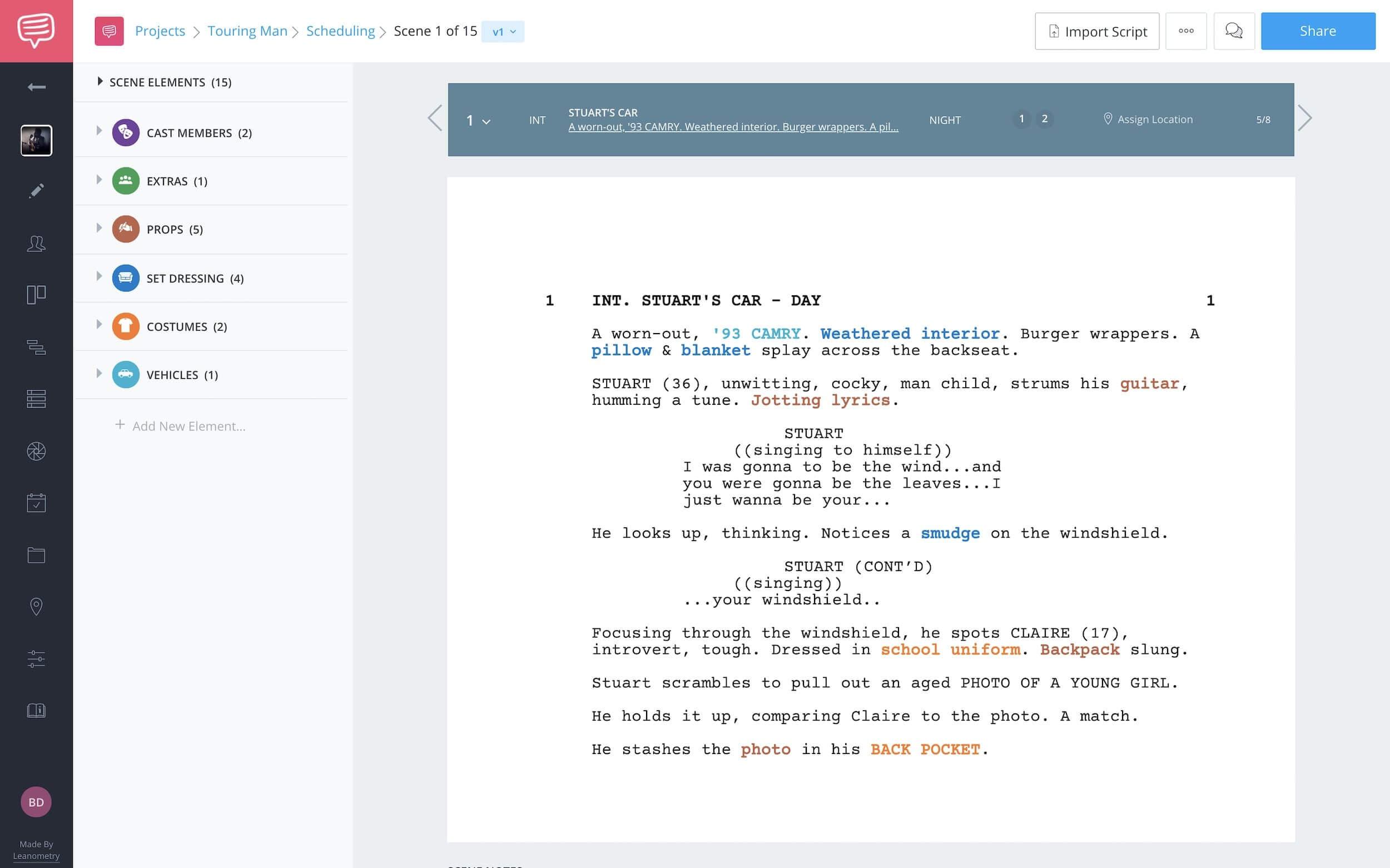 How to Renumber Scenes in StudioBinder - StudioBinder Script Breakdown Sheet Software