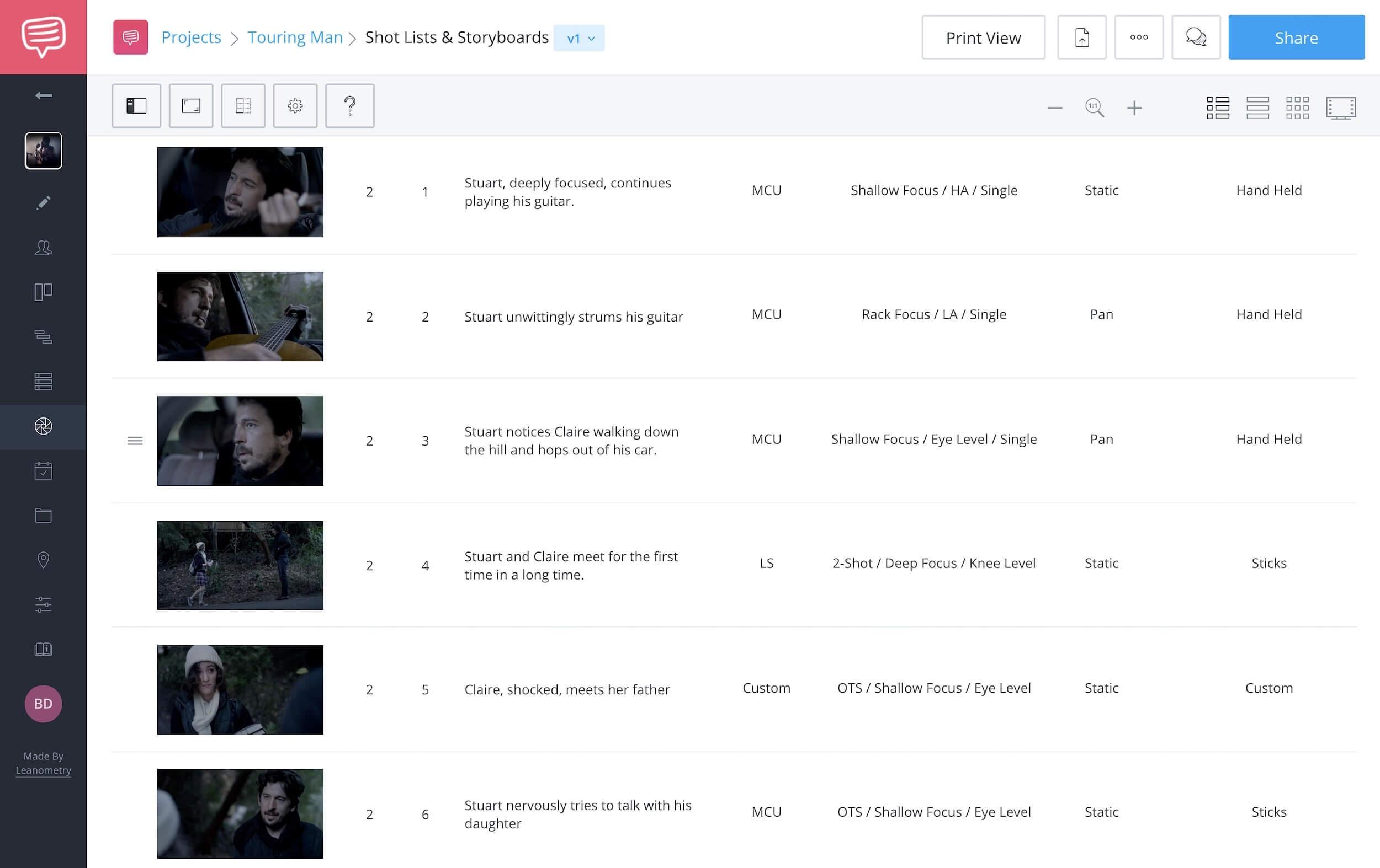 How to Renumber Scenes in StudioBinder - StudioBinder Online Shot List Software