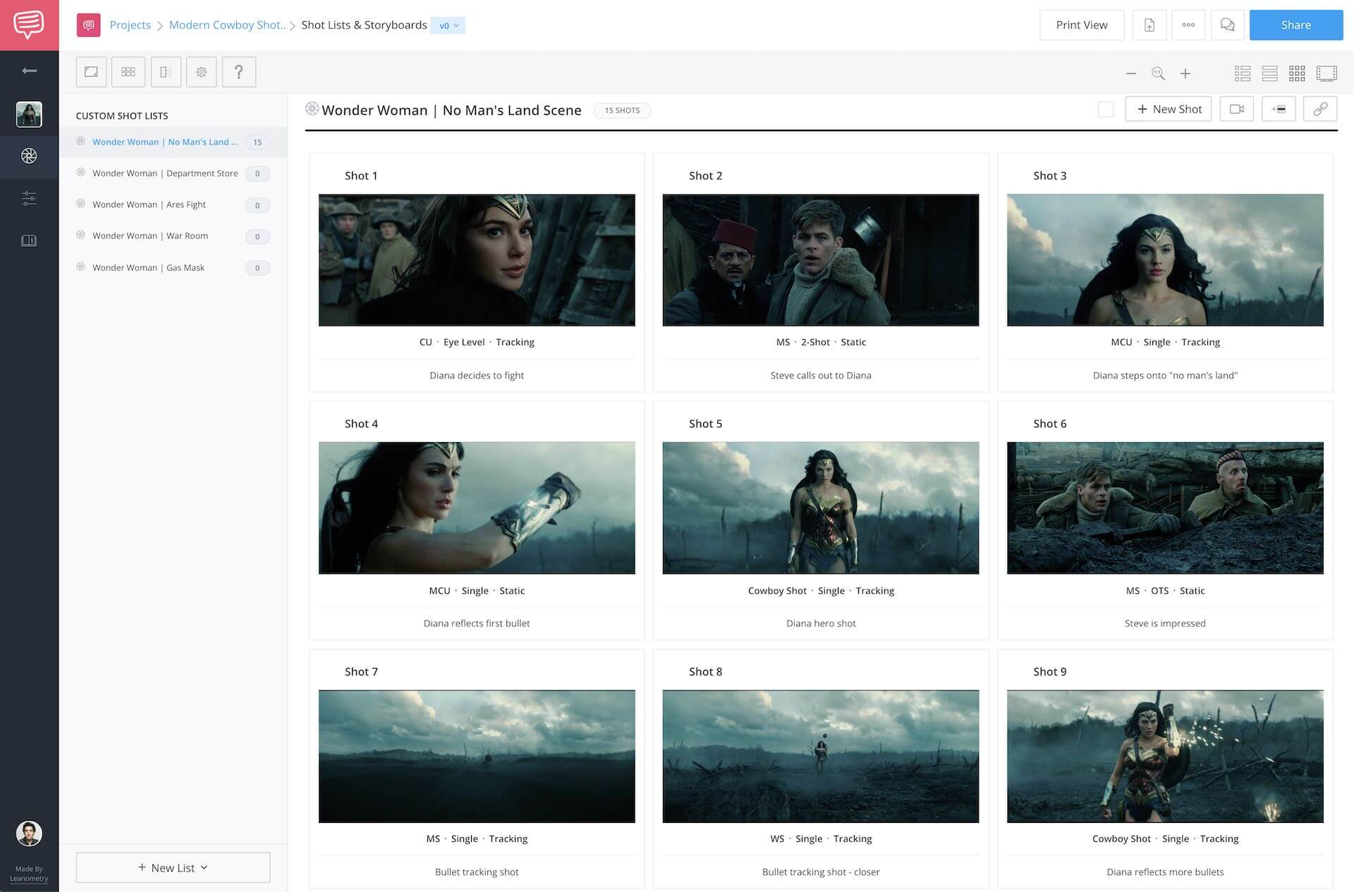 Storyboard Creator - Free Movie Storyboard - StudioBinder Storyboard Maker