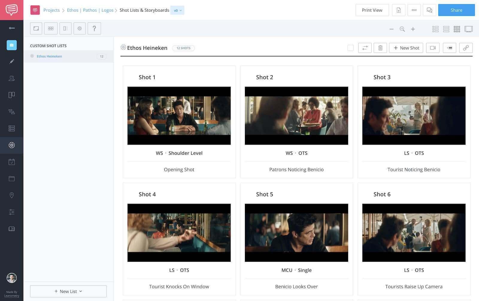 Ethos Pathos Logos - Ethos Heineken Screenshot - StudioBinder