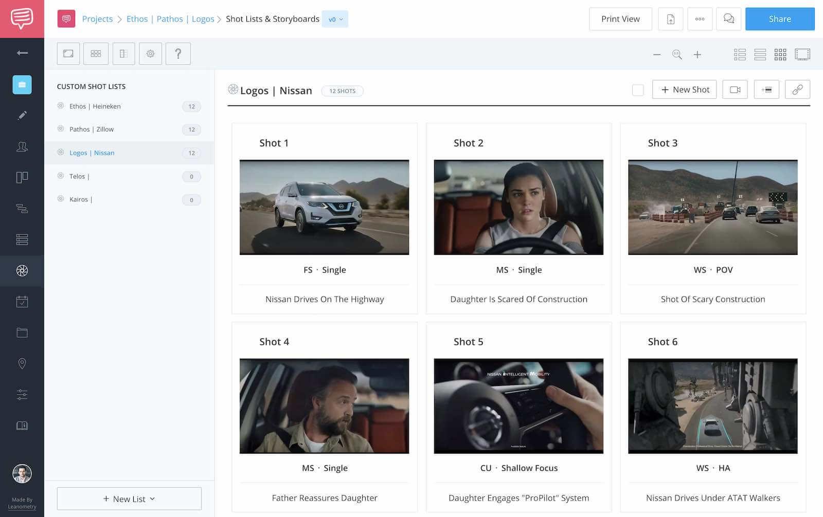 Ethos Pathos Logos - Logos Nissan Screenshot - StudioBinder