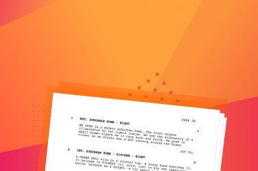How to Format a Screenplay - Movie Script Screenplay Format Template - Script Writing Format Explained - Heading - StudioBinder-min