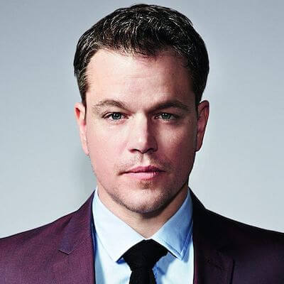 Matt Damon - Square Headshot - StudioBinder