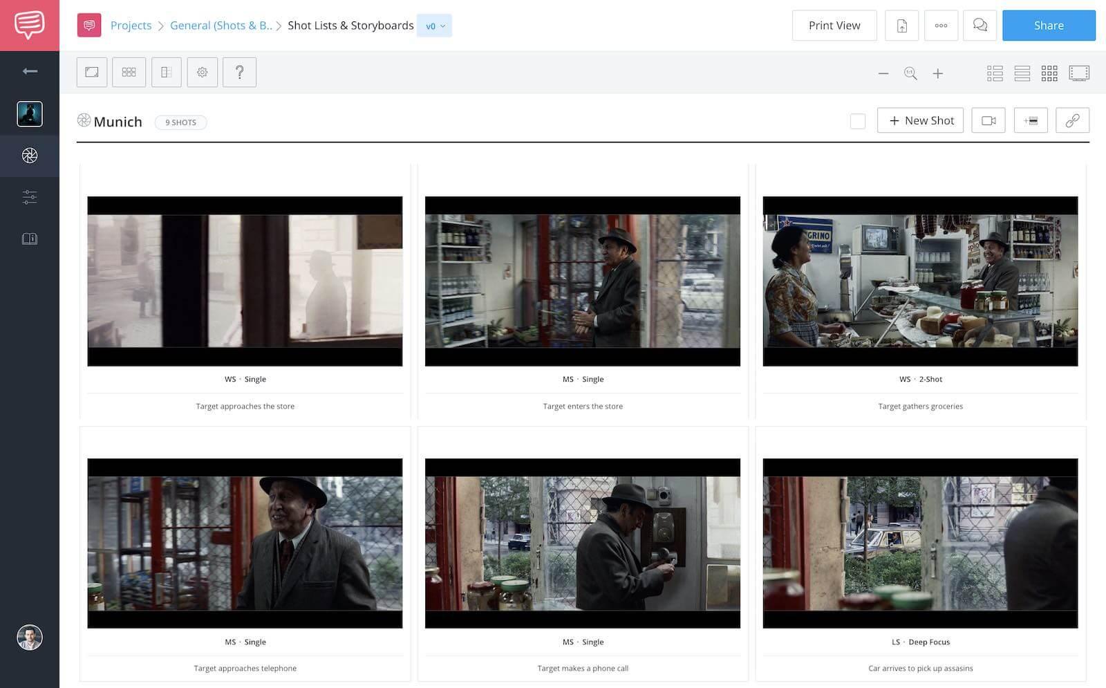 Munich - Steven Spielberg Filmmaking Style - StudioBinder Shot List