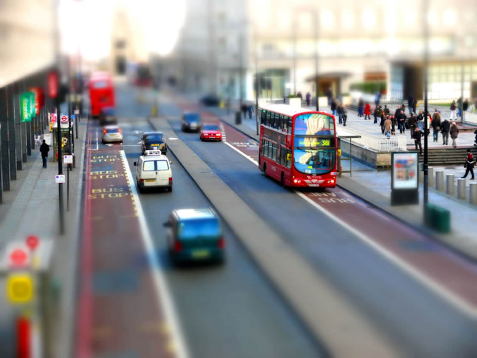 What is a Tilt Shift Shot - Tilt Shift Photo - Example