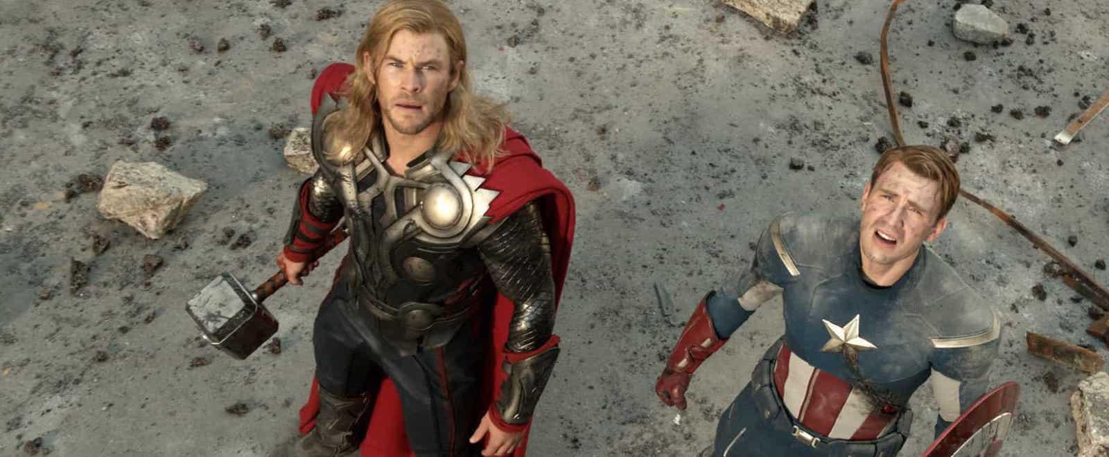 Camera Shot Guide - High Angle Shot - The Avengers - StudioBinder