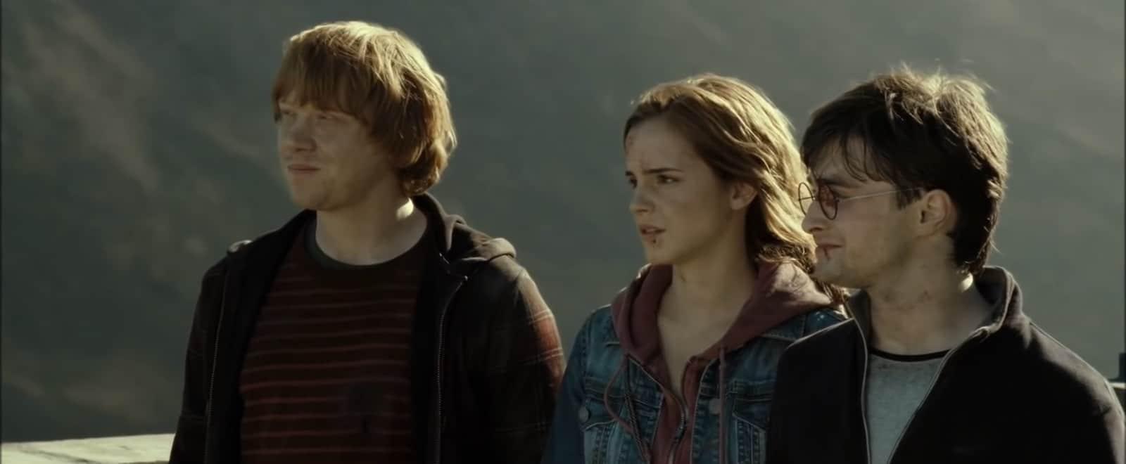 Camera Shot Guide - Three Shot - Harry Potter - StudioBinder