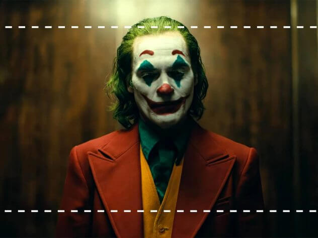 Camera Shot Sizes in Film - MCU on Joker - Heading - StudioBinder