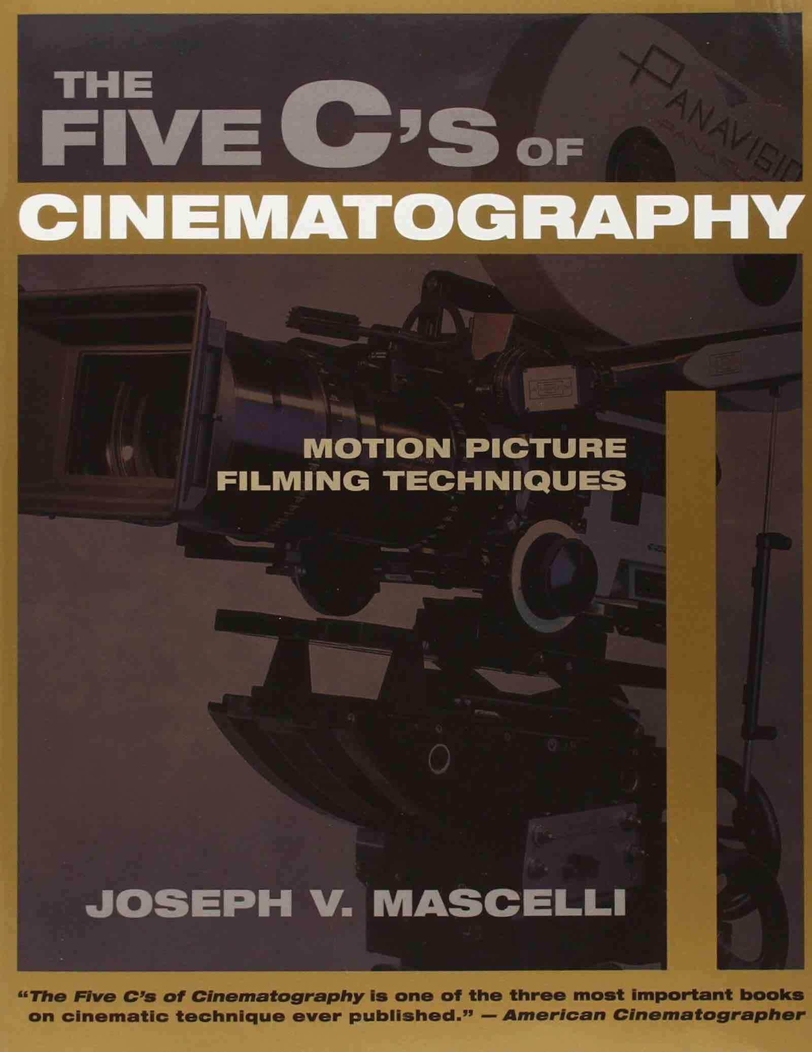 Essential Cinematography Books - The Five C's