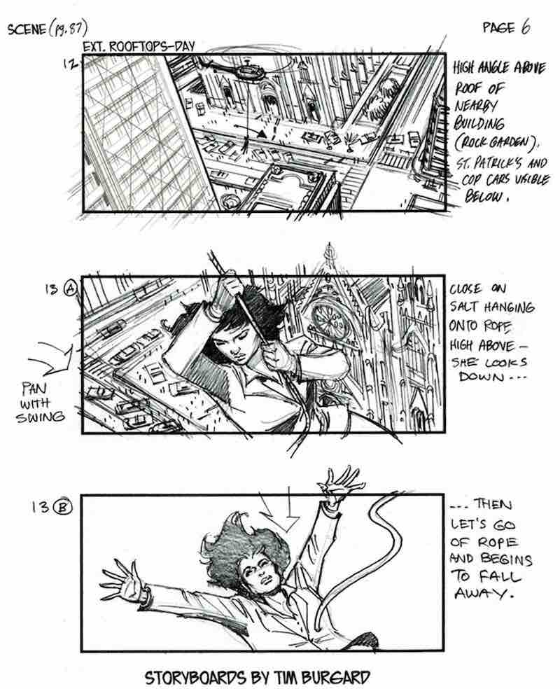Storyboard Example - Salt Storyboard - Tim Burgard - StudioBinder