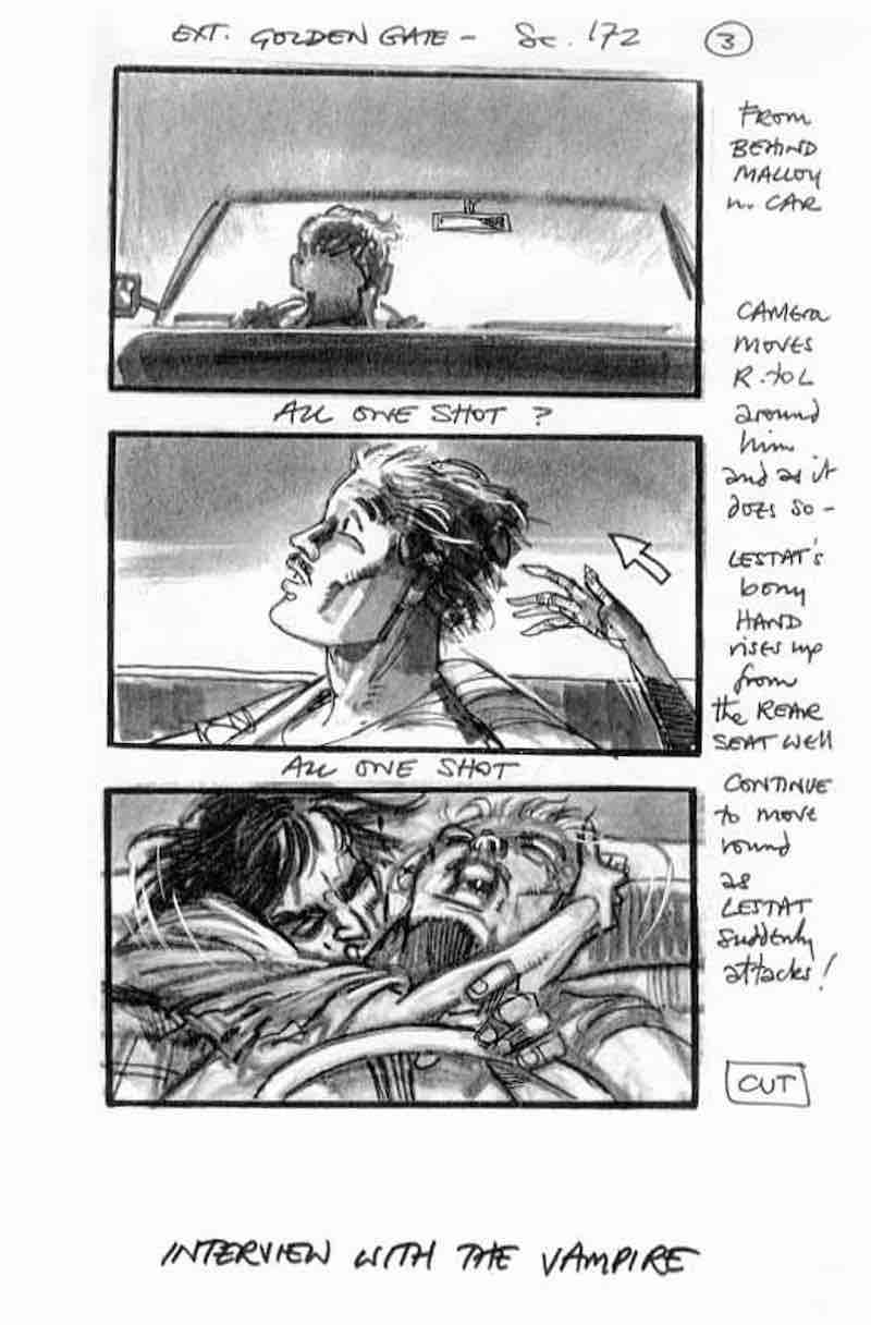 Storyboard Examples - Interview with the Vampire Storyboard - StudioBinder
