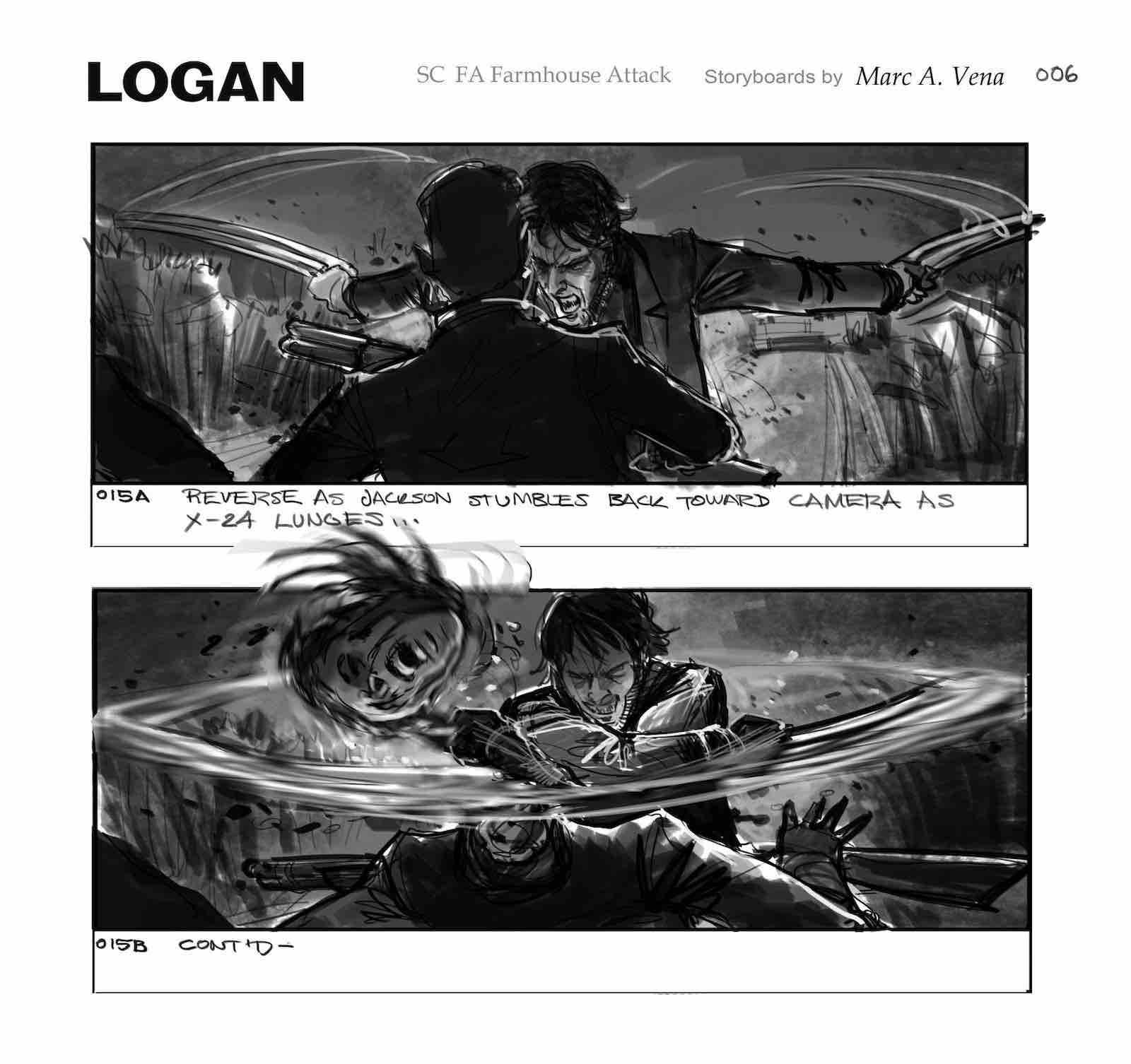 Storyboard Examples - Logan Storyboard - Mark Vena - StudioBinder