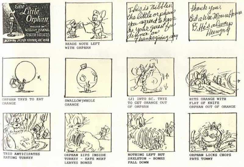 Storyboard Examples - Tom and Jerry Storyboard - StudioBinder