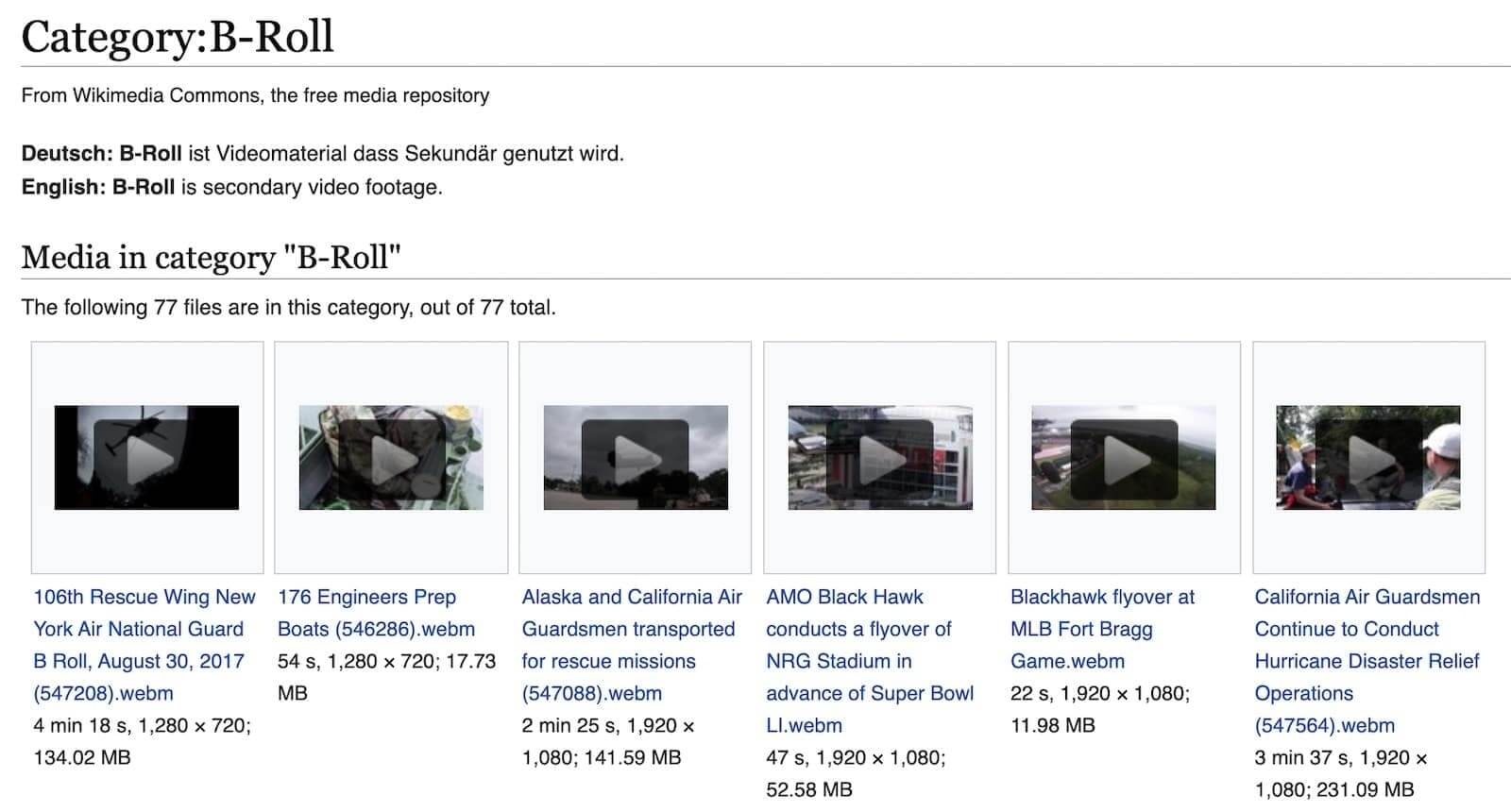 24 Websites to Find Affordable or Free B-Roll Footage - 1 - StudioBinder