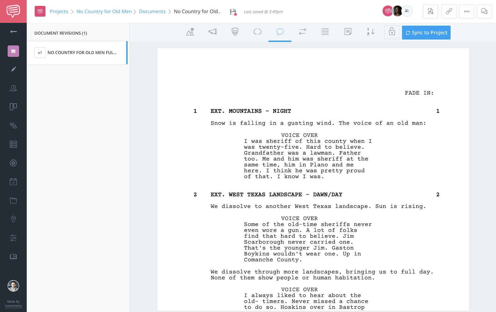 No Country for Old Men Script Teardown - Full Script - StudioBinder