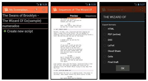 20 Best Screenwriting Apps - MyScreenplays - StudioBinder