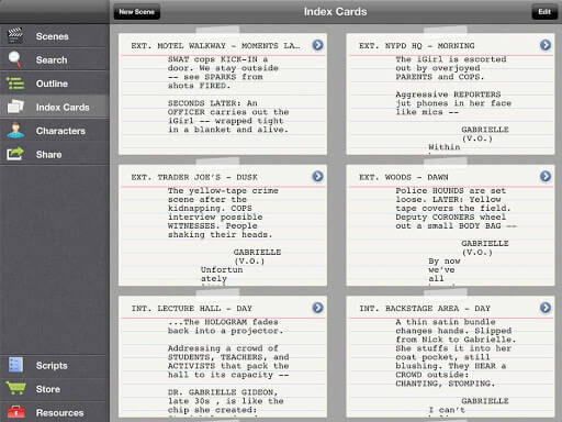 20 Best Screenwriting Apps - Scriptly - StudioBinder