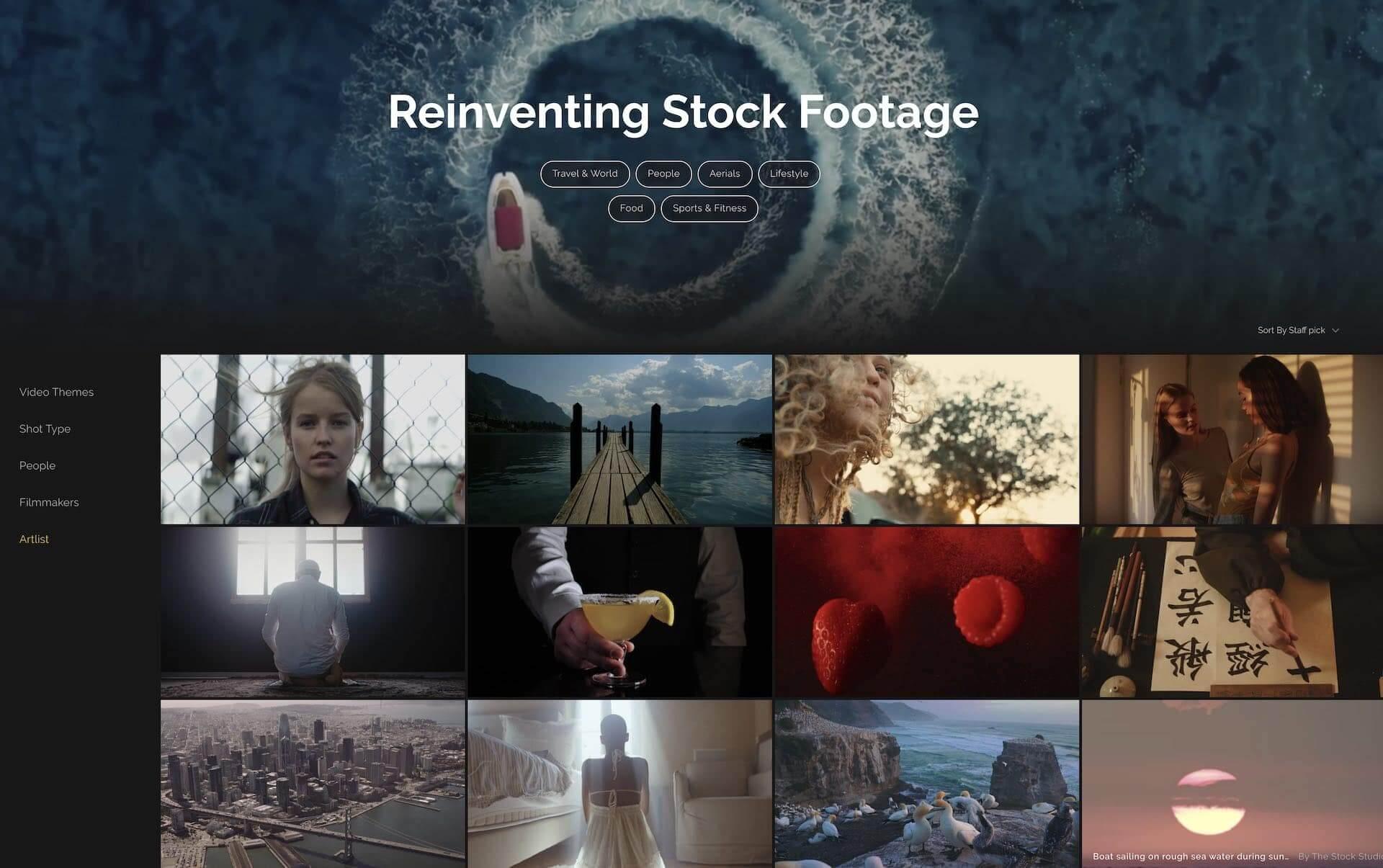 Best Stock Video Websites for Filmmakers - Artgrid