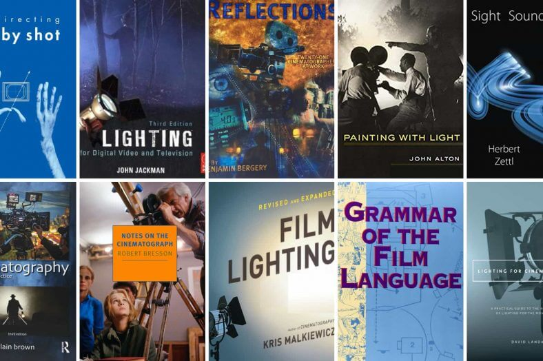 Cinematography Books - Featured - StudioBinder