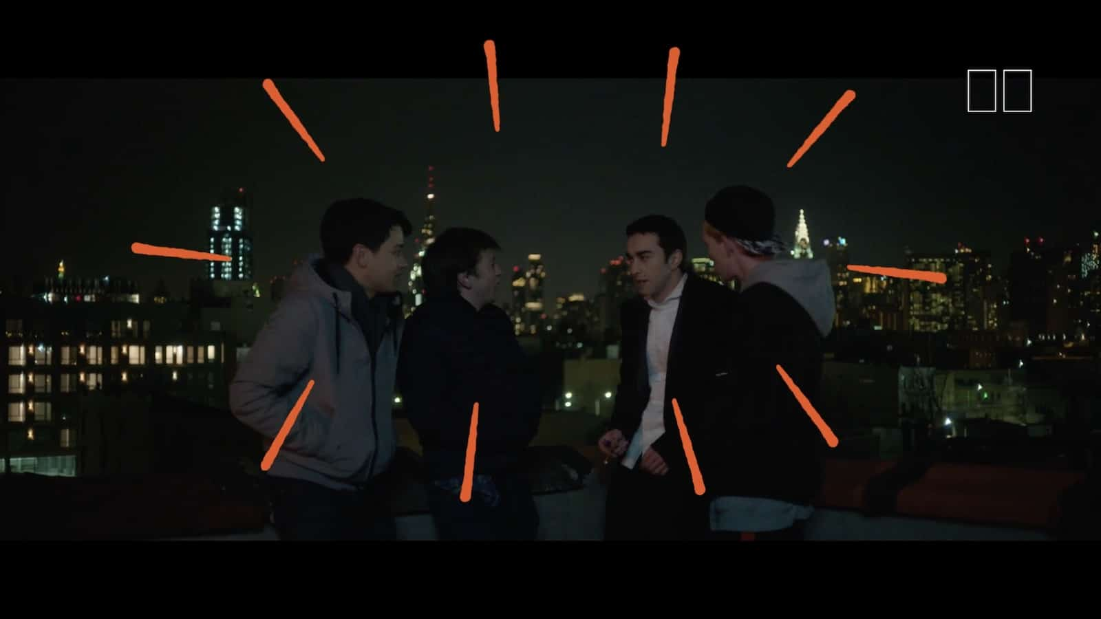 In the Frame with Alex Wolff - Rooftop Scene - The Cat and the Moon - StudioBinder