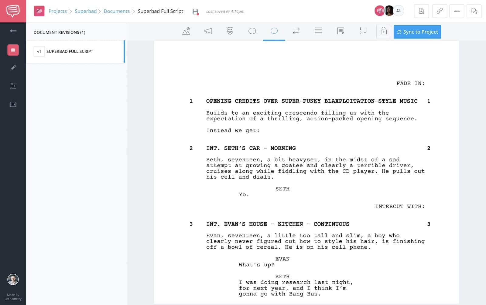Superbad - Script Teardown - Full Script - StudioBinder - 4