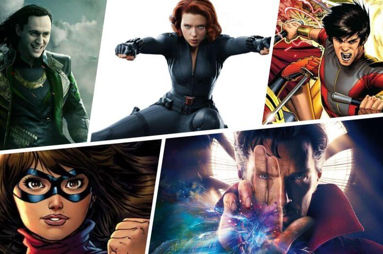 Upcoming Marvel Movies - Featured - StudioBinder