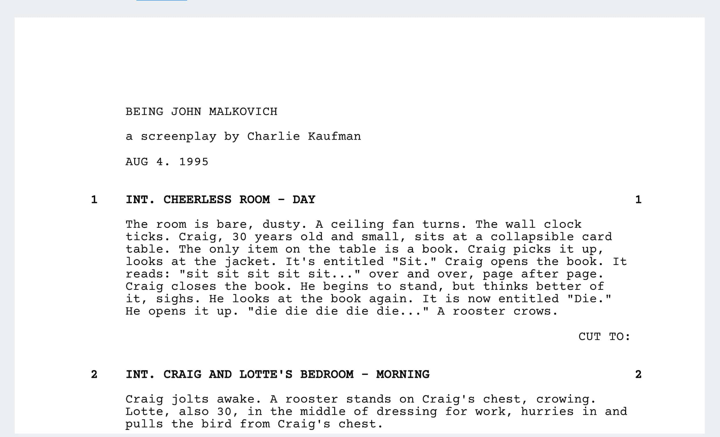 Best Charlie Kaufman Movies - Being John Malkovich - StudioBinder