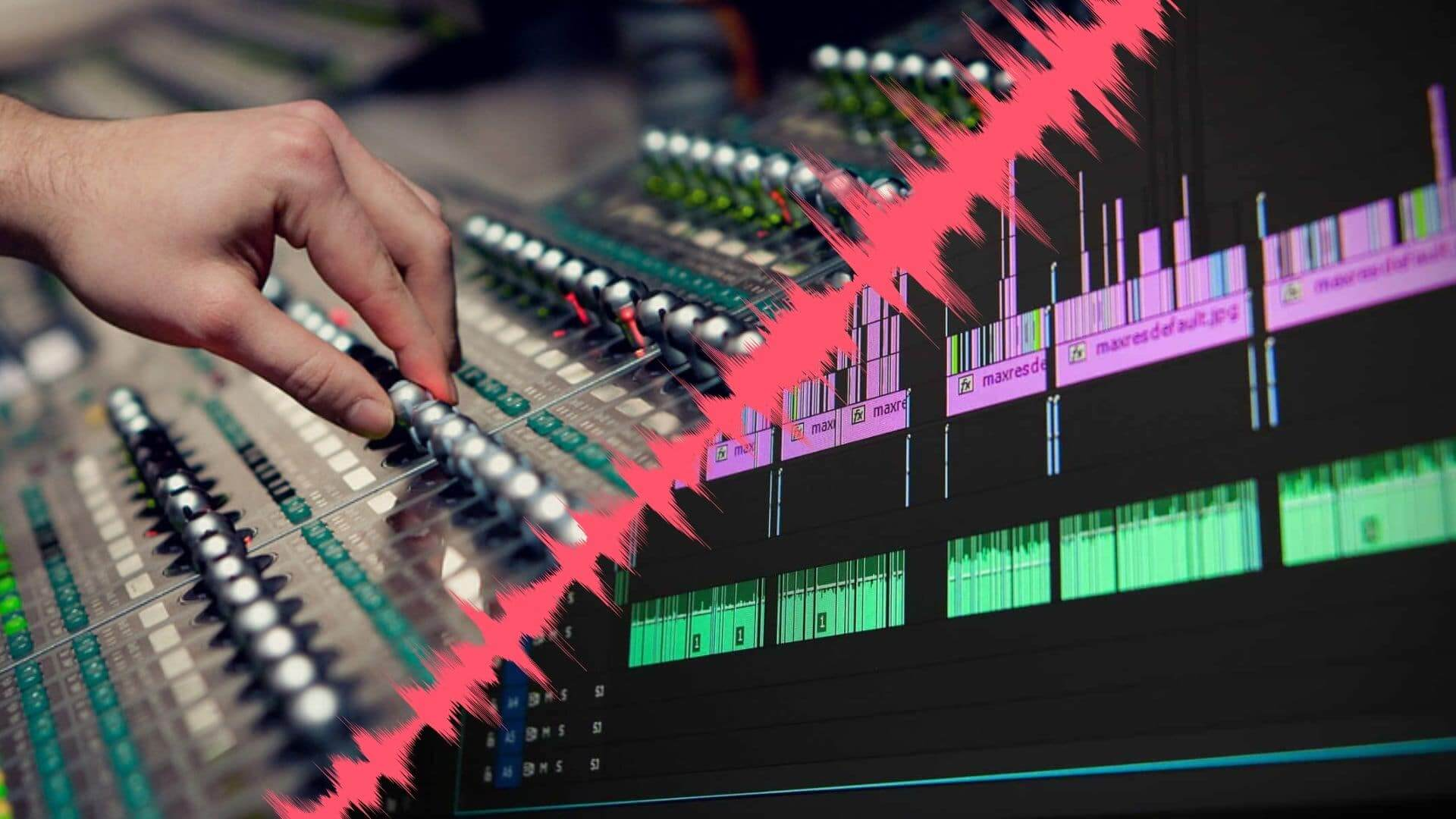 Sound Mixing vs Sound Editing - Featured - StudioBinder