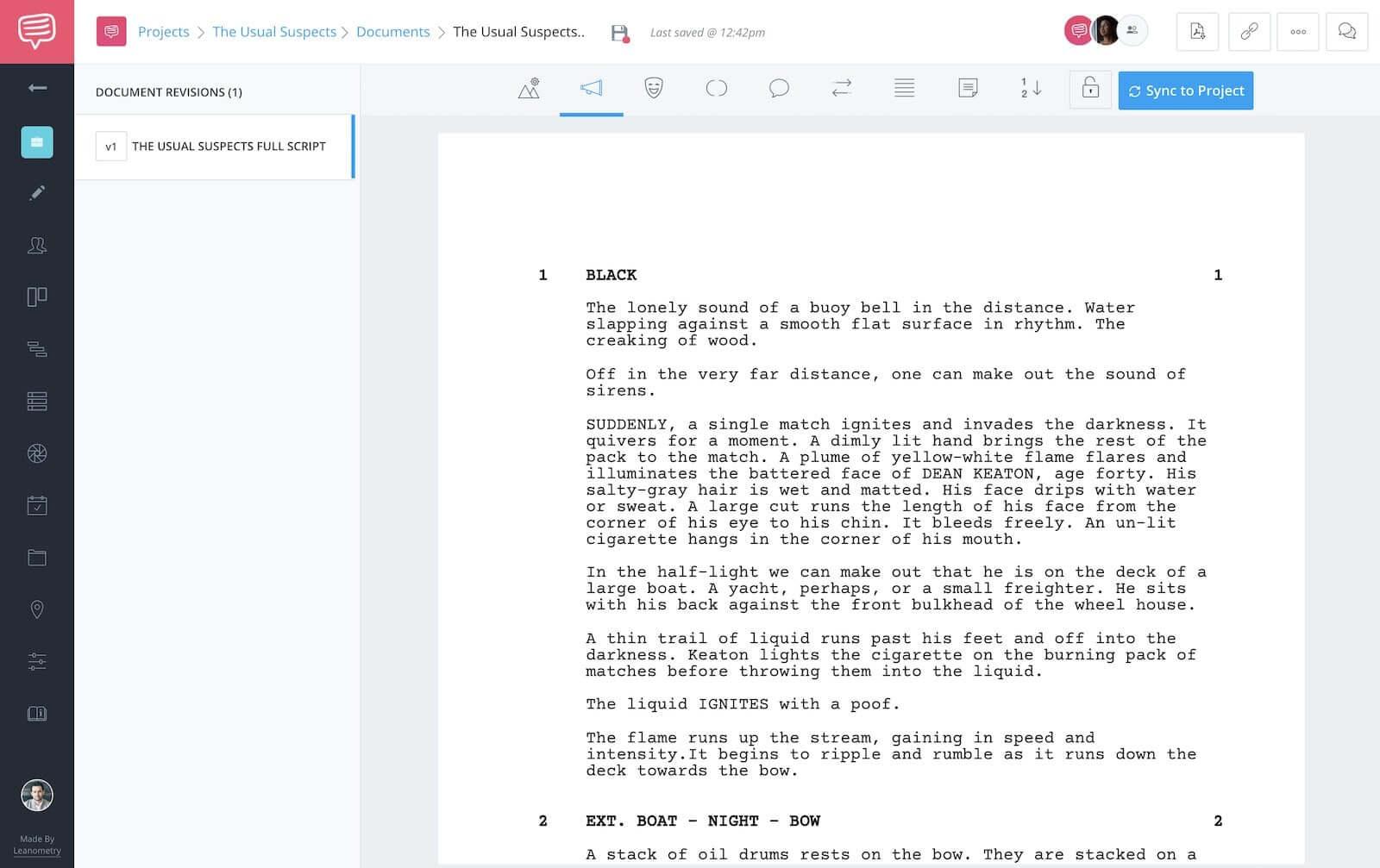 The Usual Suspects - Full Script - StudioBinder - 1