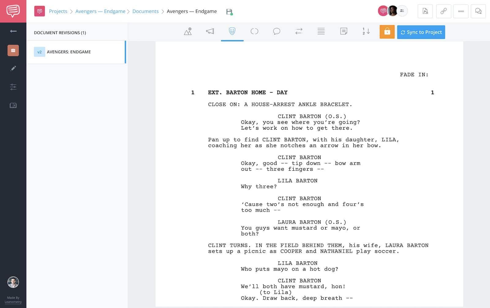Avengers Endgame - Full Script - StudioBinder - 1
