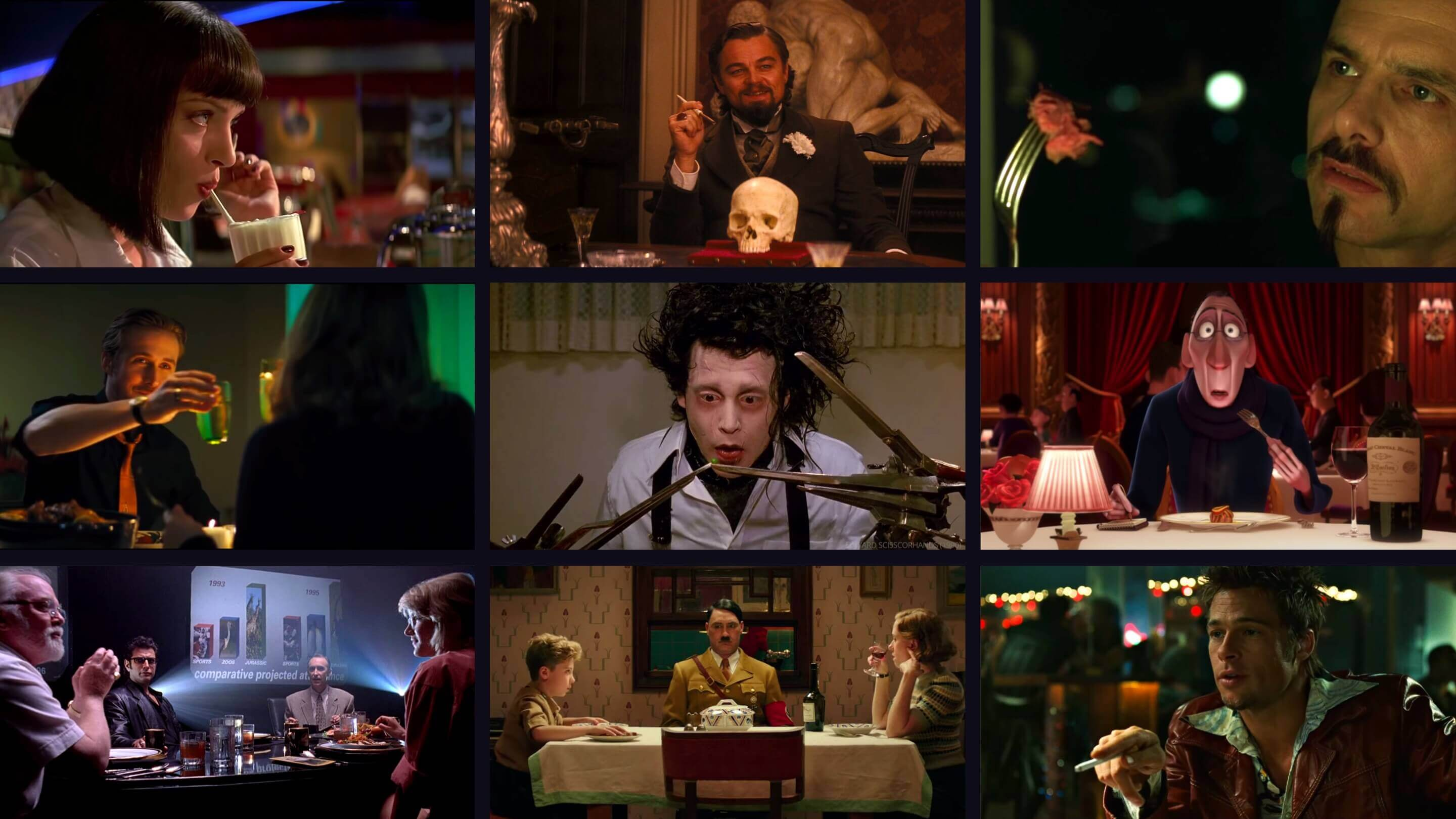 Best Dinner Scenes in Movie HIstory - Cinematic Dinner Scenes and Table Scenes