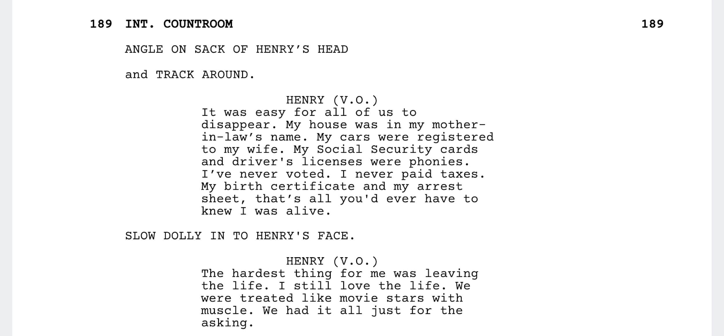 Goodfellas Script Teardown - Goodfellas Ending - StudioBinder - Screenwriting