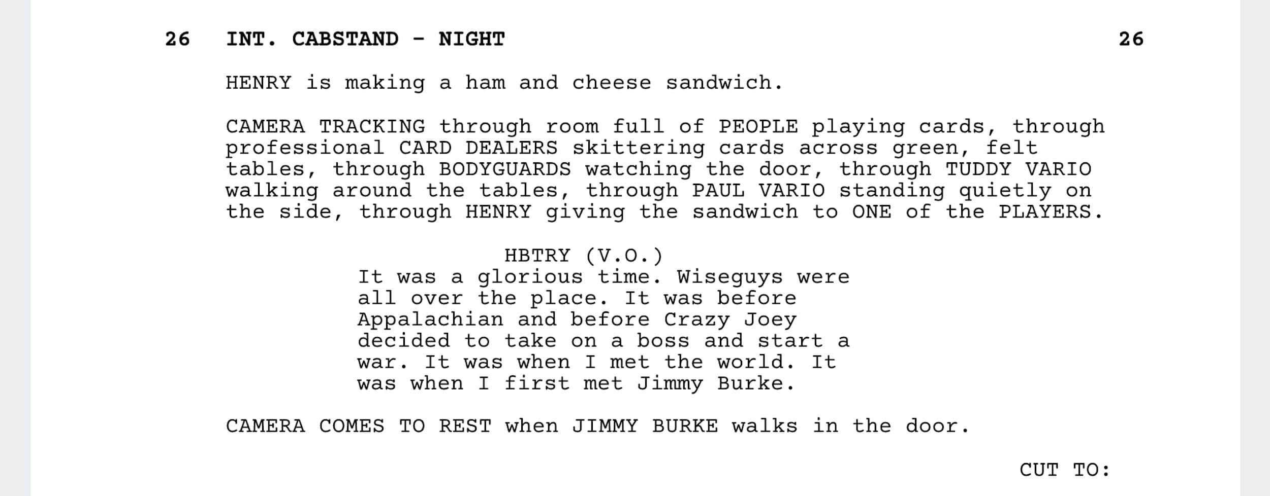 Goodfellas Script Teardown - Goodfellas Jimmy the Gent - StudioBinder - Screenwriting