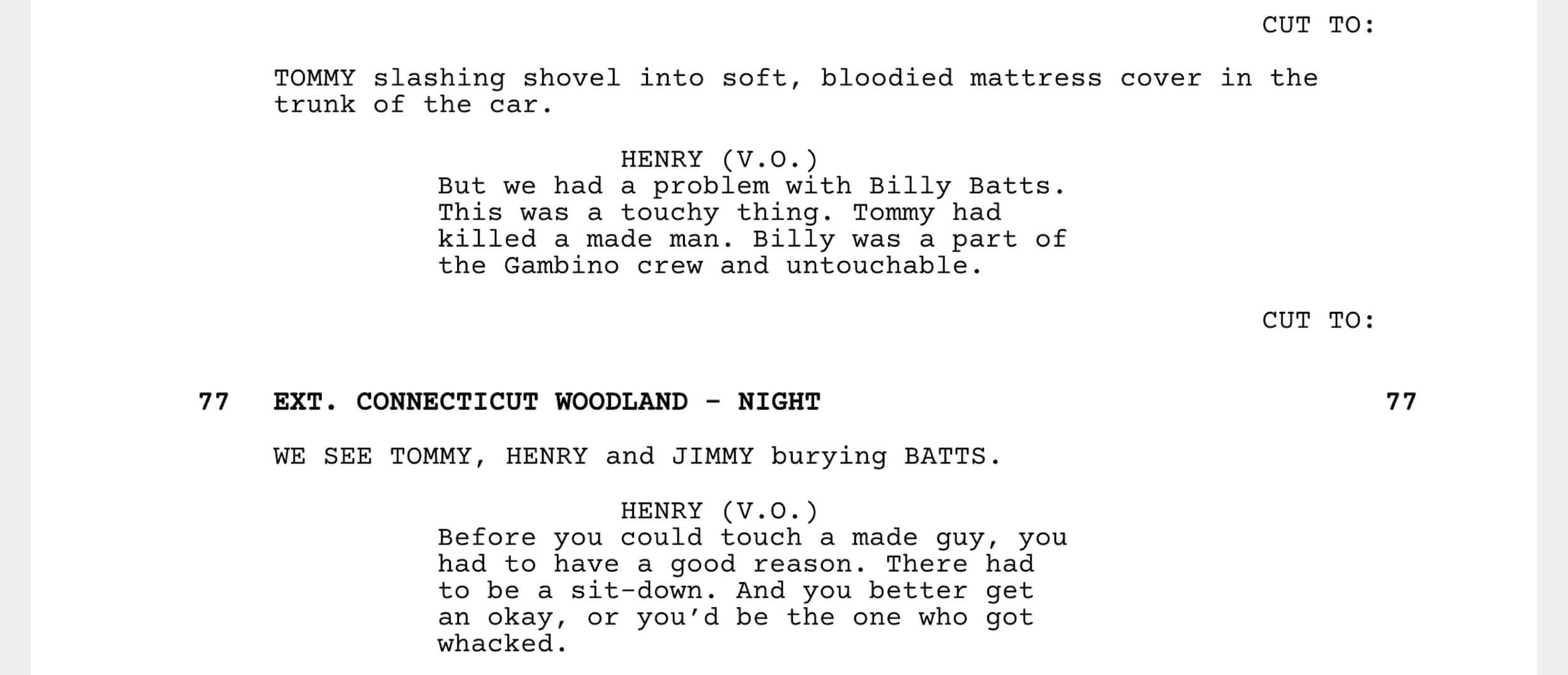 Goodfellas Script Teardown - Goodfellas Made Man - StudioBinder - Screenwriting