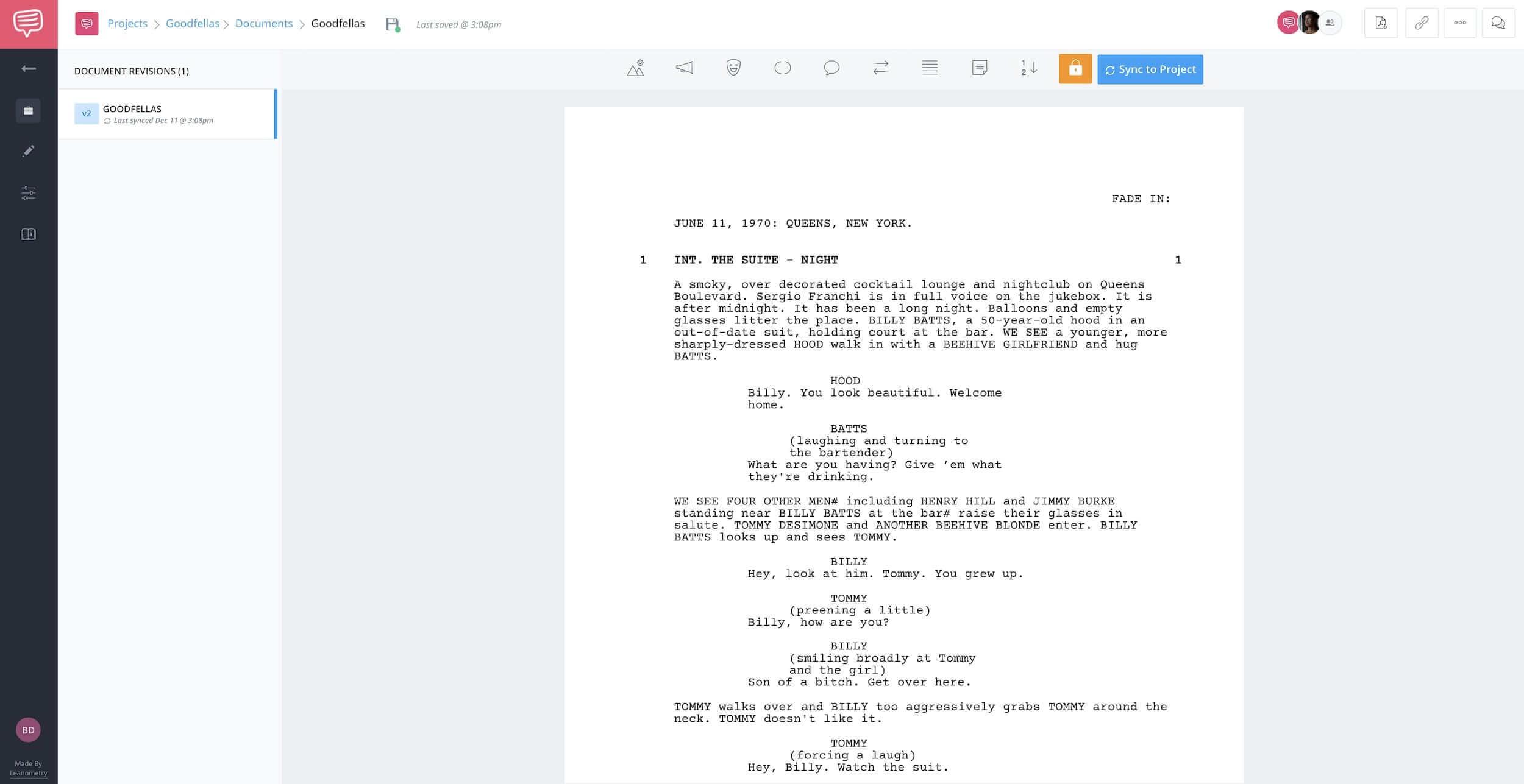 Goodfellas Script Teardown - Goodfellas Screenplay - StudioBinder - Screenwriting