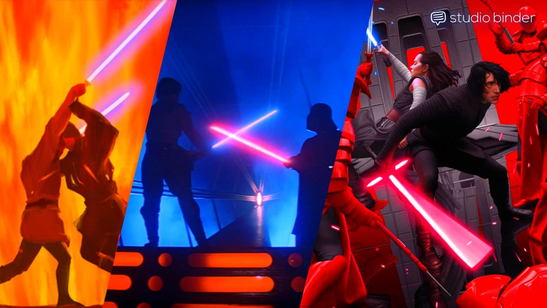 Star Wars - Lightsaber Drama - Screenplay Writing - WP