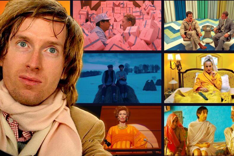 Wes Anderson Style and Wes Anderson Color Palette - Happy Colors Meet Dark Subjects