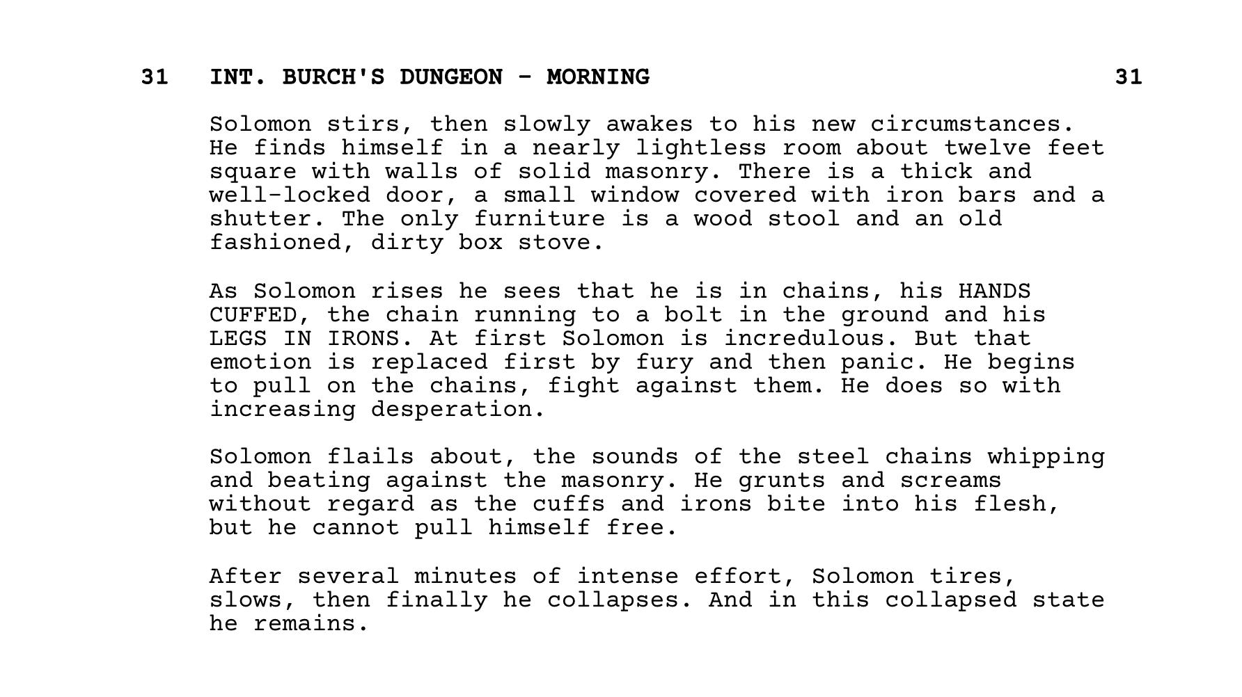 Best Adapted Screenplays - 12 Years a Slave - StudioBinder Screenwriting