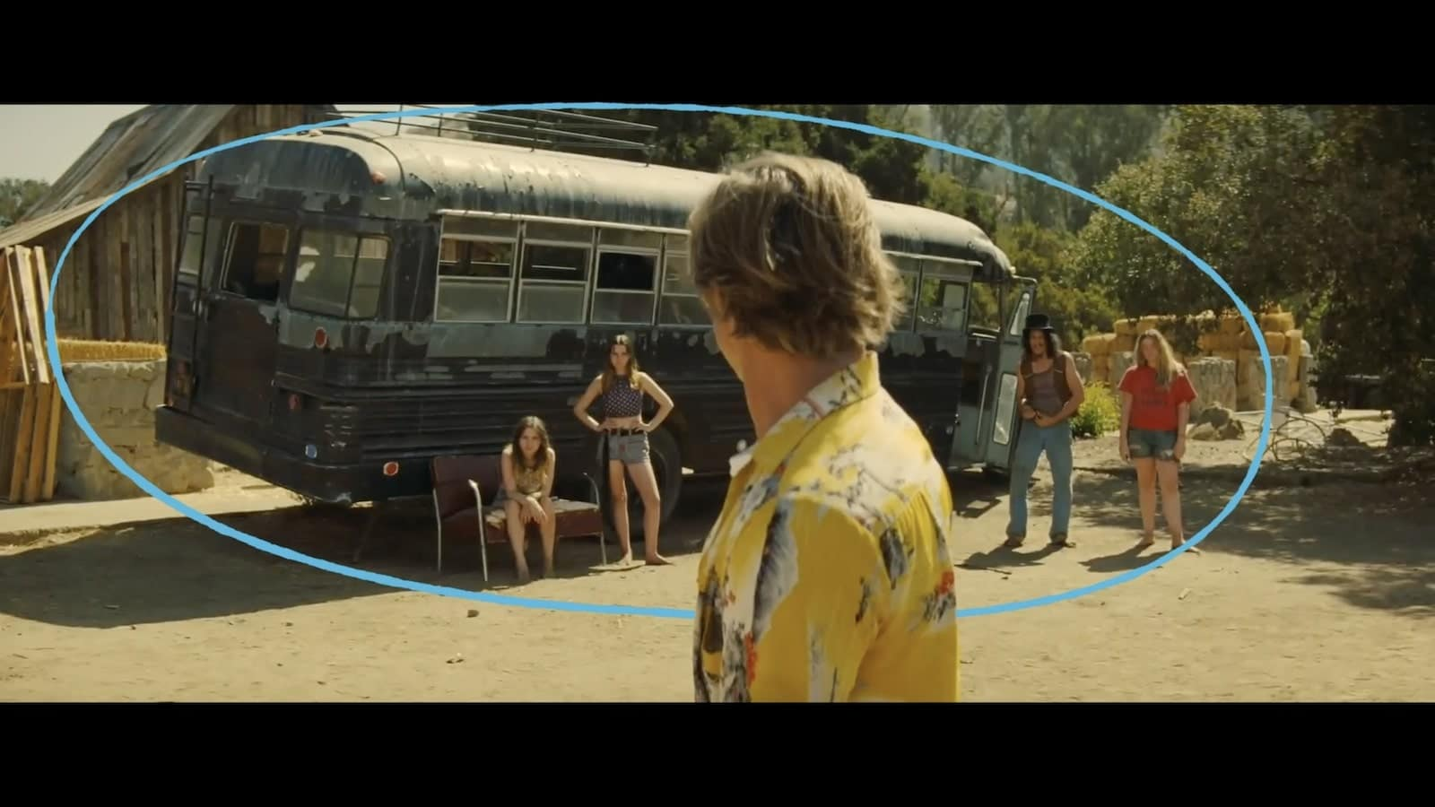Once Upon a Time in Hollywood Analysis - Cliff is Surrounded - StudioBinder